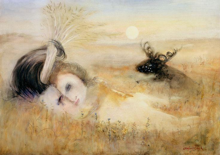 Arthur Boyd, Lovers in a Landscape 1963