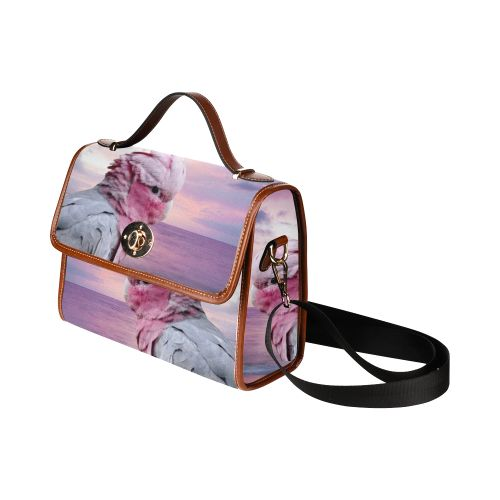 Galah Cockatoo Waterproof Canvas Bag/All Over Print. FREE Shipping. #artsadd #bags #parrots
