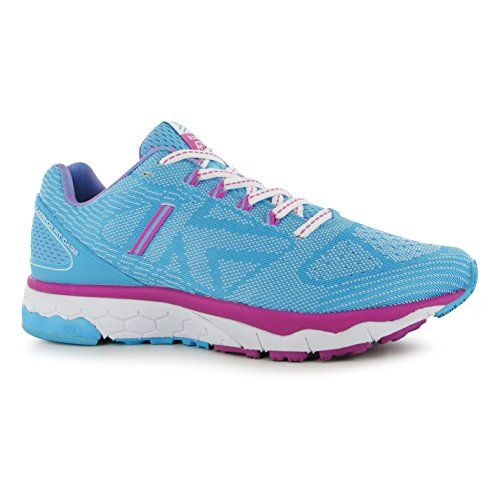 Karrimor Womens D30 Excel 2 Ladies Running Shoes Sports Lace Up Trainers Runners AquaWhite 85 * Continue to the product at the image link.