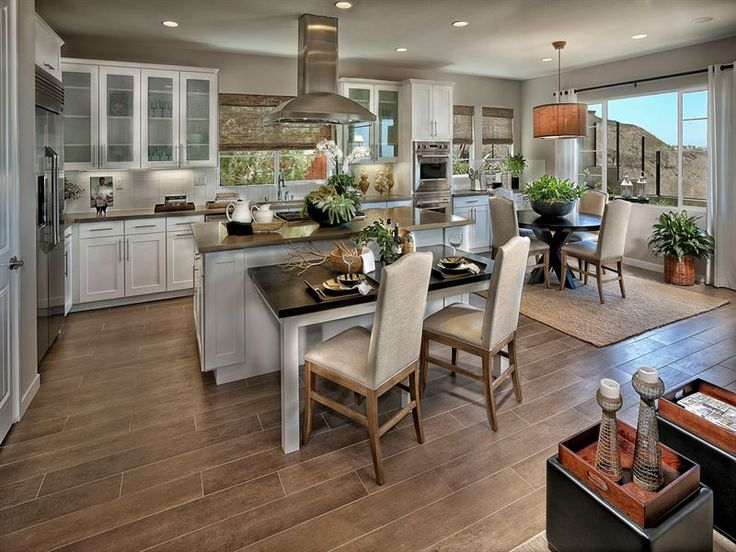Love this kitchen! Villa Serena Single Family Home Floor Plan in San Marcos, CA | Ryland Homes