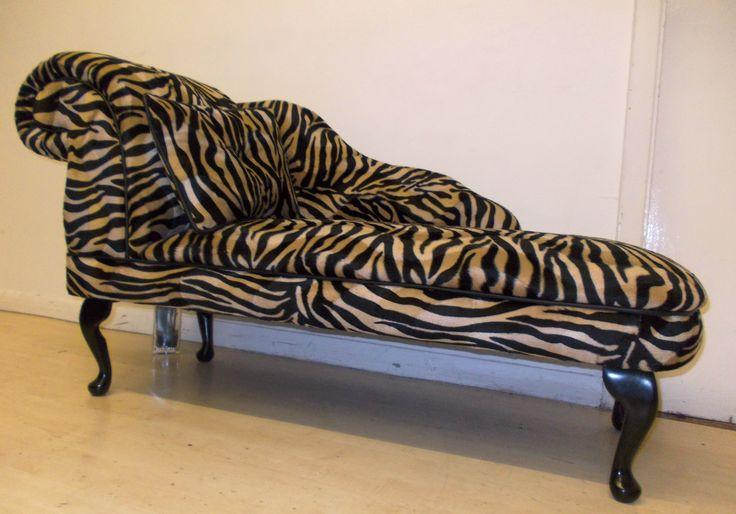 Animal Print Chaise Lounge #chaise #lounge #animalprint #animalprintfurniture