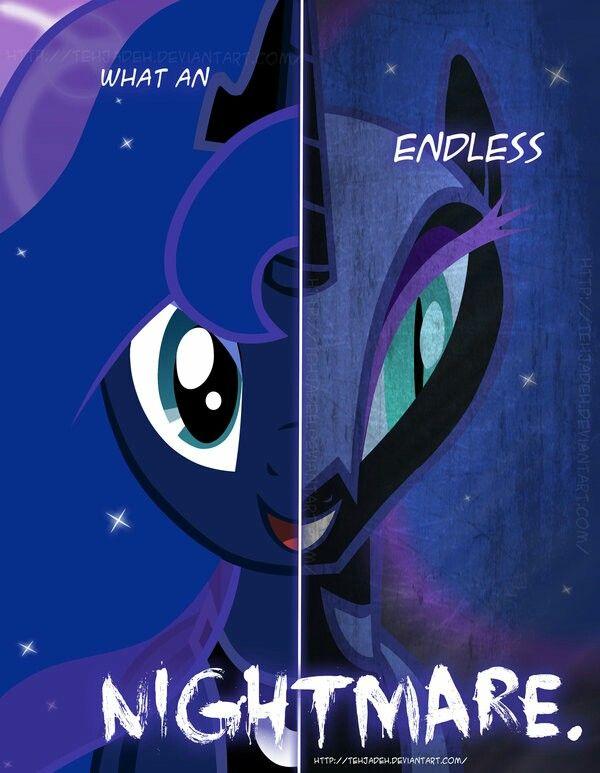 dark side of luna | my little pony | Pinterest | Princess ...