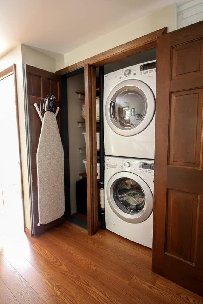 Best 25 Small Laundry Closet Ideas On Pinterest Laundry