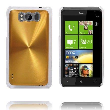 Aluminium Shield (Guld) HTC Titan Cover