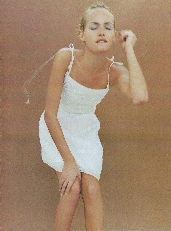 Alberta Ferretti Spr/Sum 1996 - Amber Valletta by Steven Meisel
