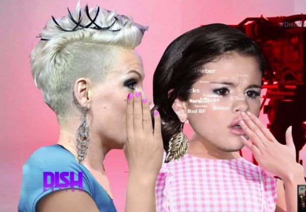 Pink Urges Selena Gomez To End with Justin Bieber and Move On!