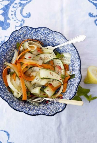 Gok Wan's Spicy Cucumber and Spring Onion Salad