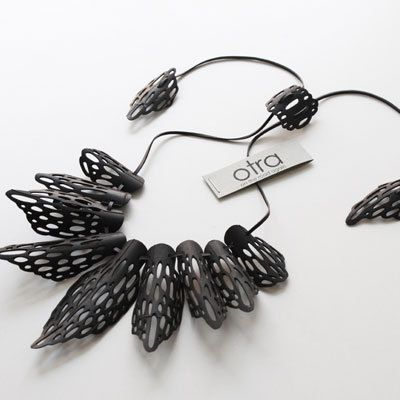 Otra Designs: jewelry range includes earrings, bracelets and necklaces, like the one shown. $68 CAD. Ships everywhere.