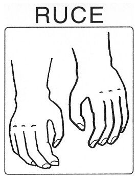Části těla - ruce