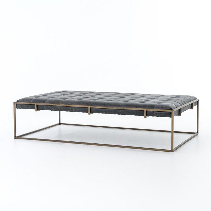 best 25+ leather ottoman coffee table ideas on pinterest   leather