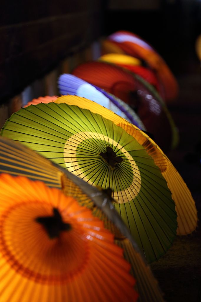 Japanese umbrellas, Wagasa 和傘 http://www.arcreactions.com/services/online-marketing/