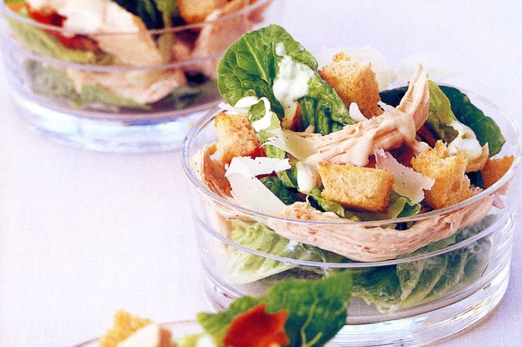 Try this delicious low-fat Caesar salad and you'll wonder why you usually opt for the classic high-in-fat version.