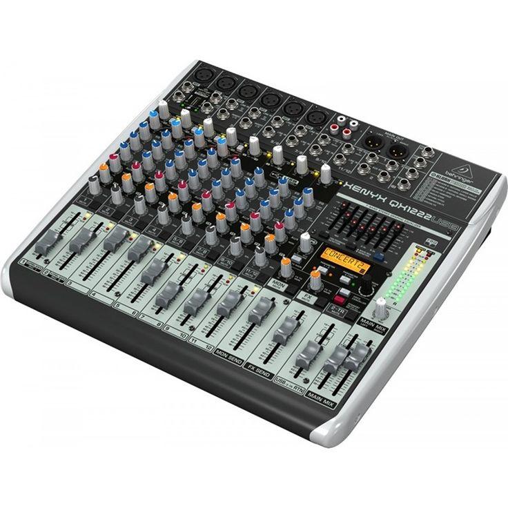 Consola XENYX-QX1222USB, Behringer tan solo $780.000.