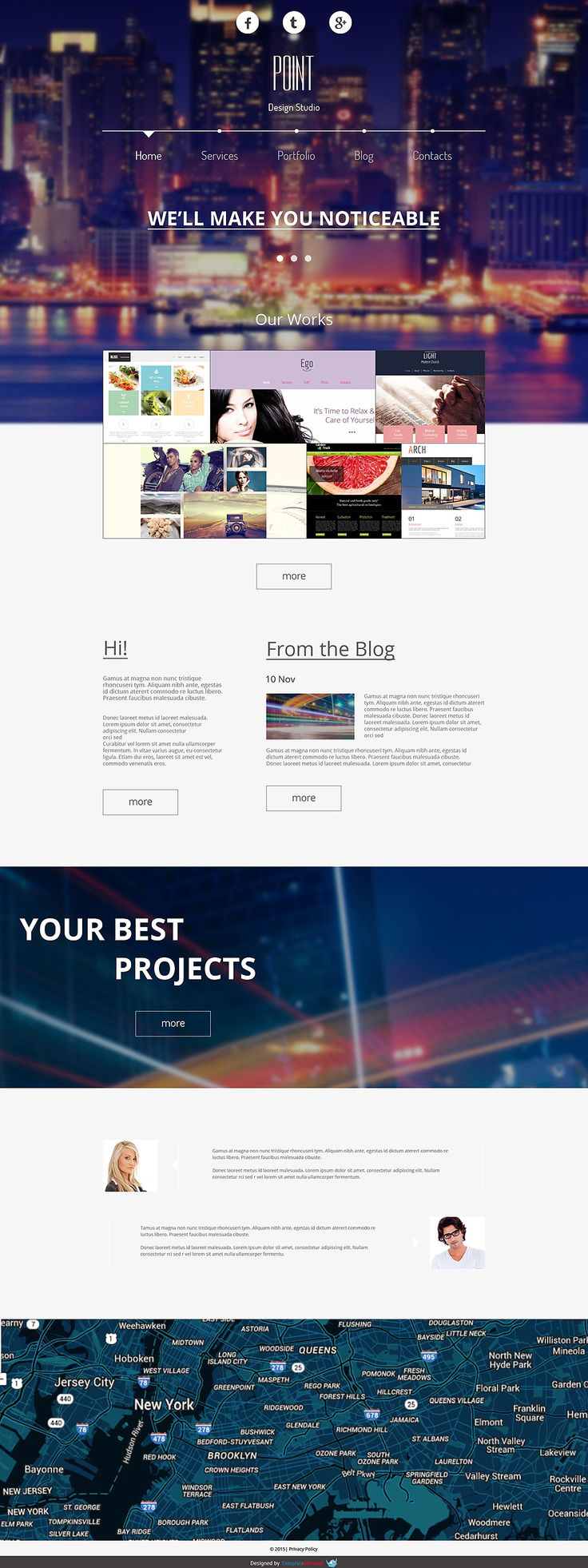 24 best Free Creative Agency Website Templates images on Pinterest ...