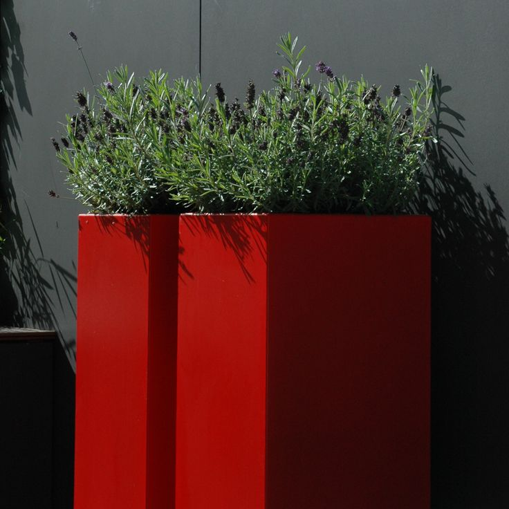 Aluminium florida high cube planter