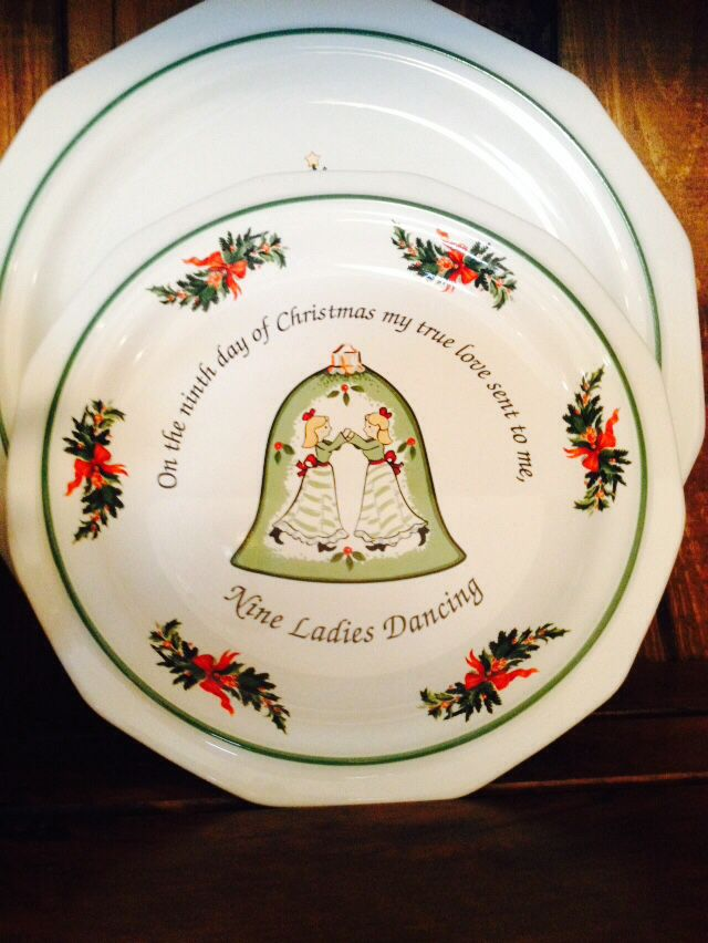 9th day of Christmas Pfaltzgraff Heritage plate & 170 best Pfaltzgraff Heritage Dishes images on Pinterest | Dish ...