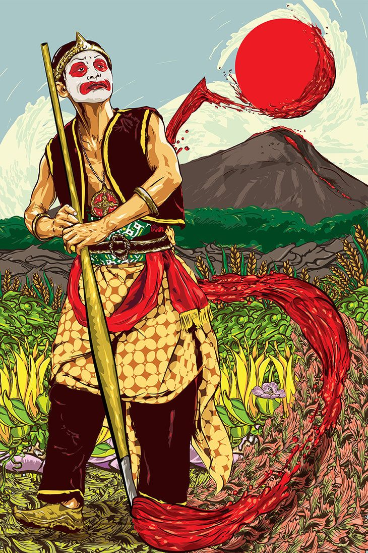 Gareng Hias Mayapada by roompoetliar on DeviantArt