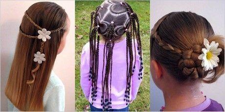 Frisuren für Kinder zu tun #hochsteckfrisuren #kr…