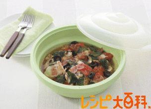 チキンのイタリア蒸しのレシピ・作り方 | 鶏むね肉 【AJINOMOTO PARK】