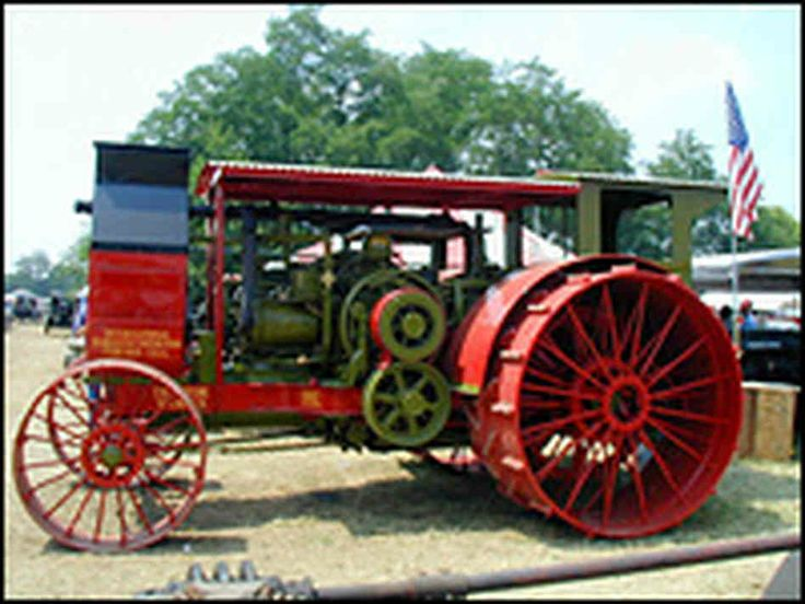 Antique International Harvester Semi Tractor : Best images about steam engins on pinterest antiques