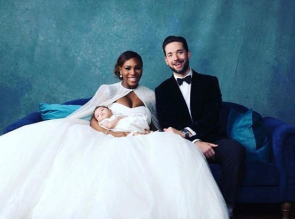 Inside Serena Williams and Alexis Ohanian's Magical  Wedding #Wedding #Married #Engagement #SerenaWilliams #Baby #WeddingDress