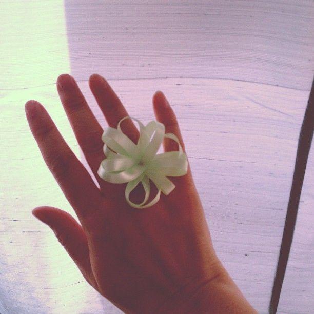 Fancy #homemade #ring