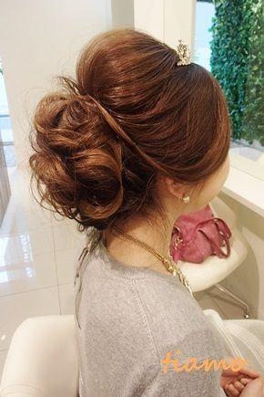 ドレスから和装にチェンジのお洒落な花嫁さま3スタイル♪リハ編の画像 | 大人可愛いブライダルヘアメイク『tiamo』の結婚カタログ