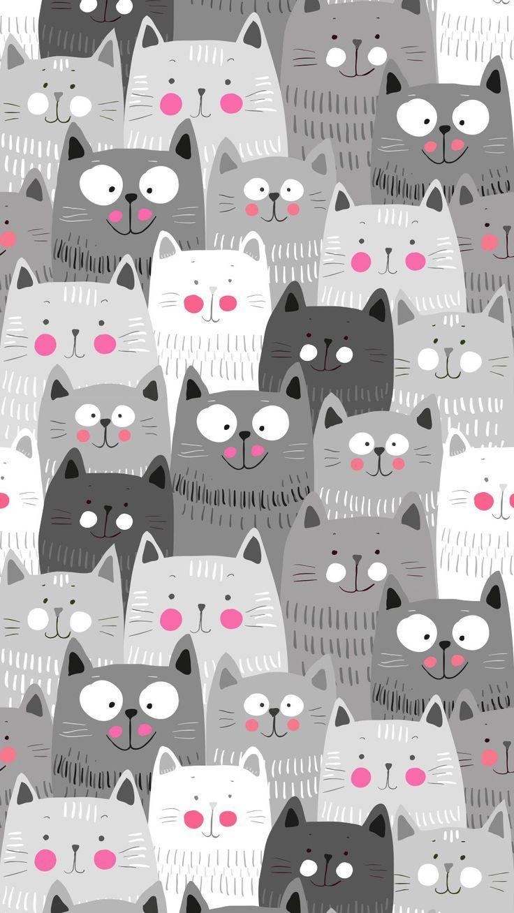 The best Cat wallpaper ideas on Pinterest Iphone wallpaper