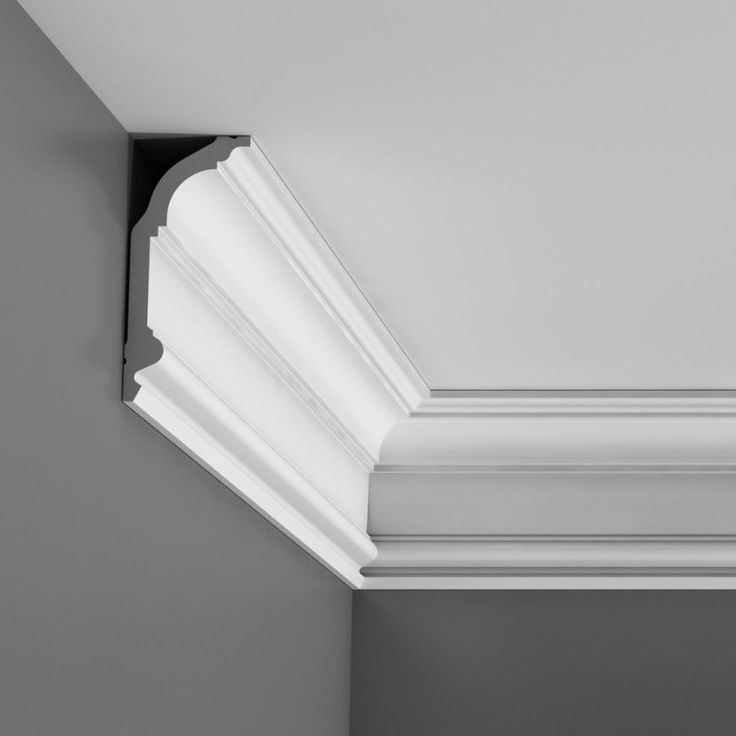 better ceiling decoration with molding georgian | C339 'Cotswolds' Medium Plain Cornice | Moss Georgian in ...