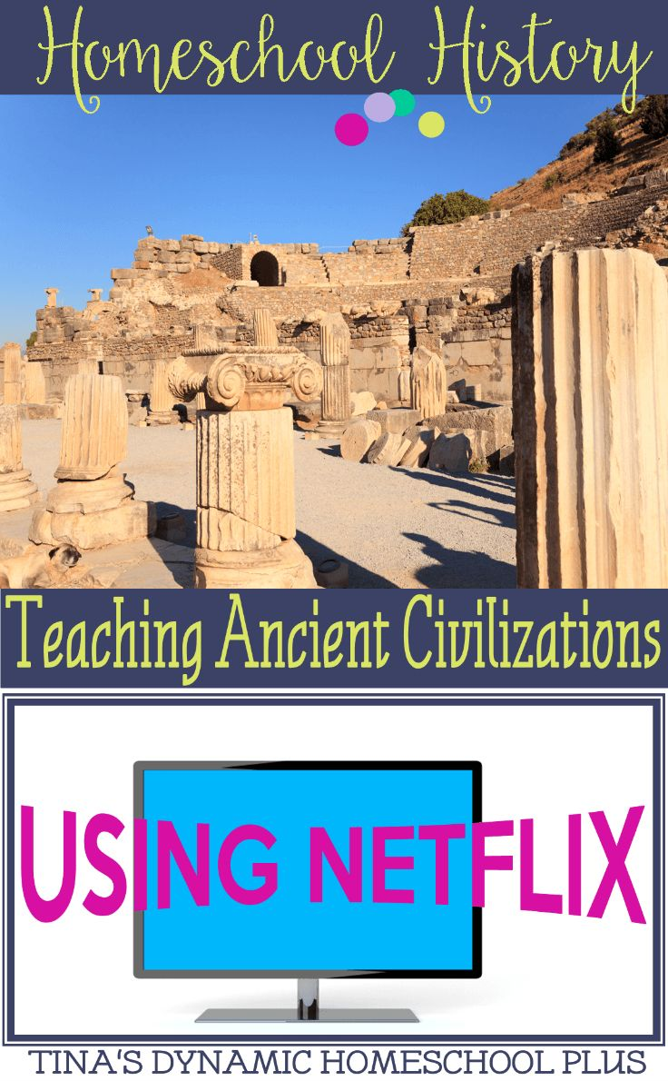 All weeks........Homeschool History Teaching Ancient Civilizations Using Netflix @ Tina's Dynamic Homeschool Plus