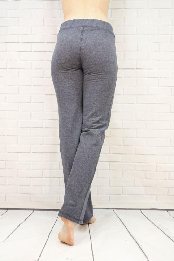 Tall Bamboo Fleece straight leg pants! J76 BambooWear Cozy Pants in Blue, Grey and Charcoal