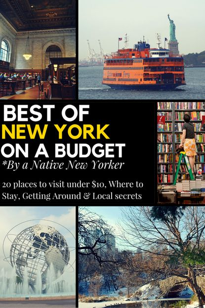 Best of New York On a Budget By a Native New Yorker @ Wanderlustingk. Written for anyone visiting NYC on a budget, including my favorite 20 Places All Under $10, accomodation Advice & getting to/around NY. Written to show you NYC through my eyes and get out off-the-beaten path like a local!