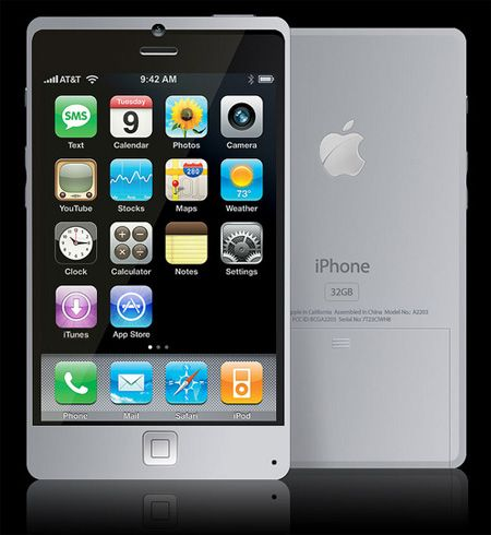 Titanium iPhone Concept