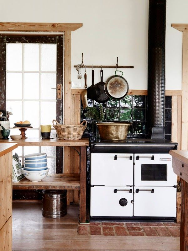 18 best Cocinas de leña images on Pinterest | Kitchens, Fire places ...