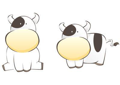 simple cow - Google Search