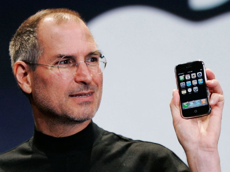 revolutionary man and change to phones... the iphone love it or hate it