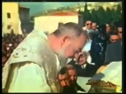 Vídeo raríssimo do Padre Pio celebrando a Santa Missa