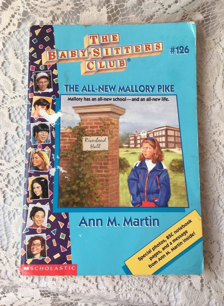 The Baby Sitters Club #126 The All New Mallory Pike BSC Boarding School Friends  | eBay