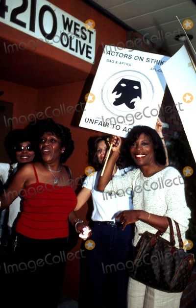 Isabel Sanford and Roxie Roker 07/08/1980 Photo by Audrey L Chiu/Globe Photos