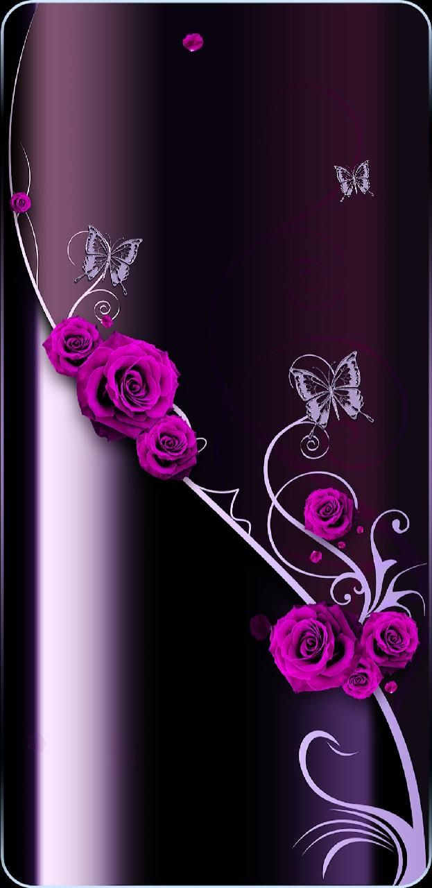 Download Rosevine Wallpaper By Princessofwallpapers 15 Free On Zedge Now Browse Millions Of Popu Bling Wallpaper Flower Phone Wallpaper Flowery Wallpaper