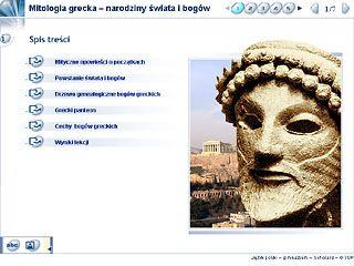 Powstanie świata i bogów wg mitologii greckiej.