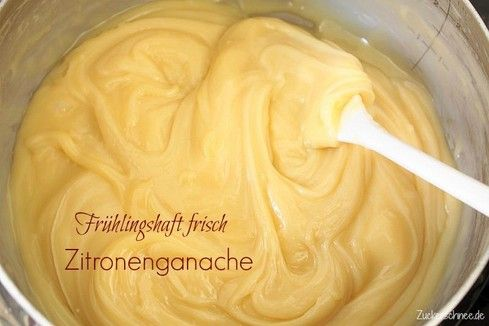 Zitronenganache