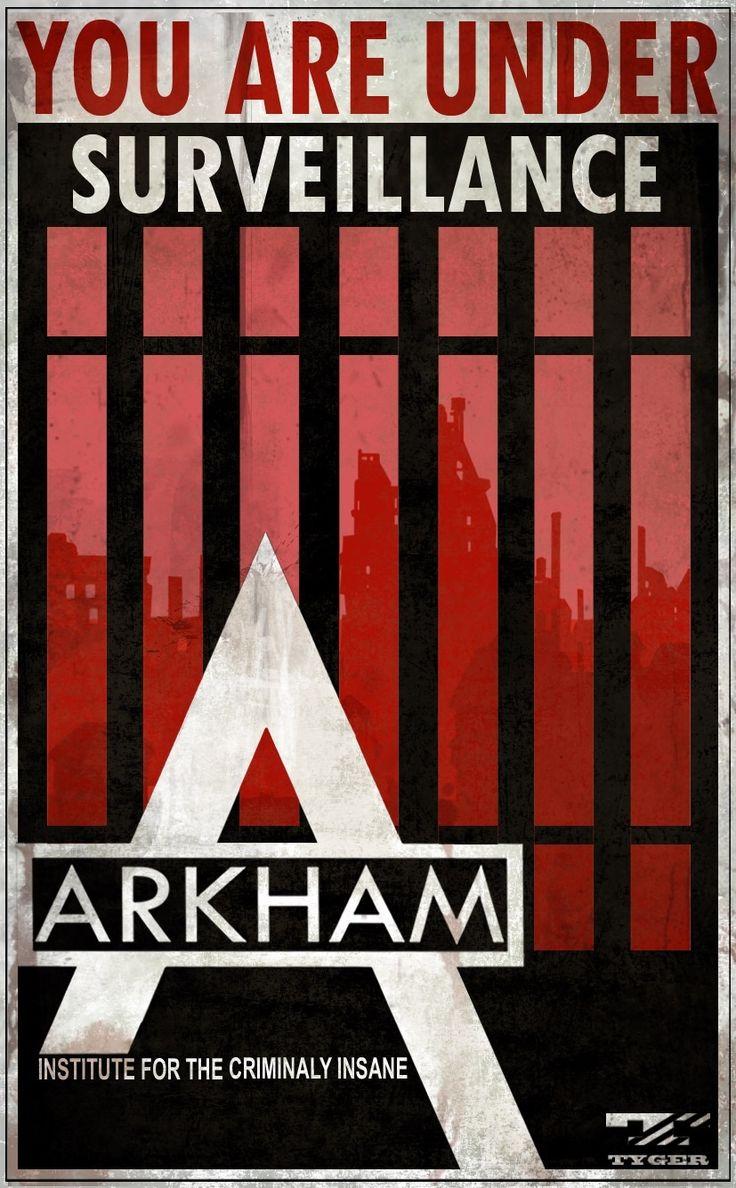 Arkham Asylum Warning Signs | Batman: Arkham City