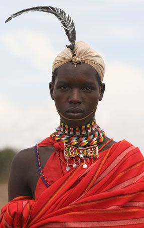 Ragazzo Masai