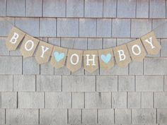 Hey, I found this really awesome Etsy listing at https://www.etsy.com/listing/169624927/baby-boy-banner-baby-boy-bunting-burlap
