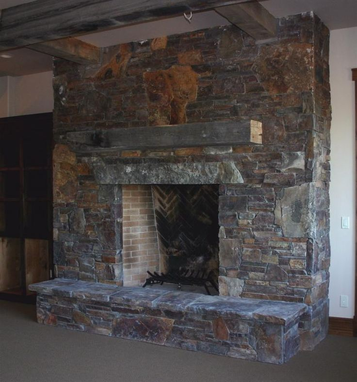 14 best Stone fireplaces images on Pinterest | Stone fireplaces ...