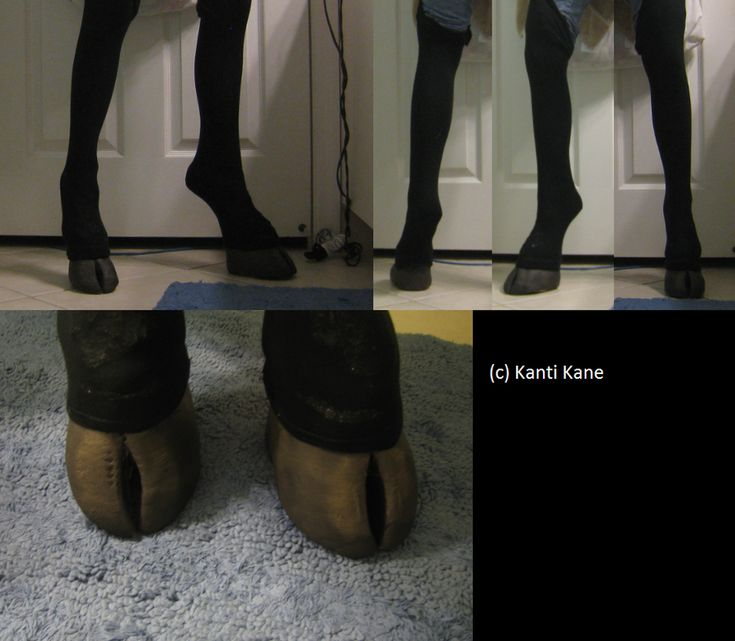- Hooved shoes - by ~Kanti-Kane on deviantART --BAH!! Perfect! Now how do I make them look this good and be decently comfortable?!