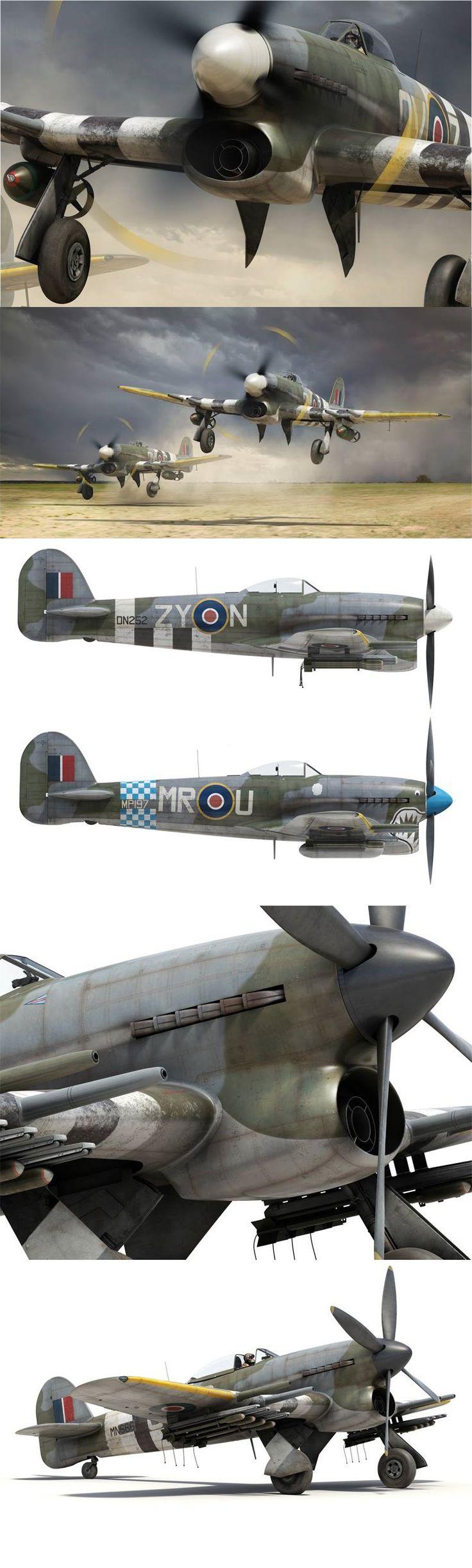 Hawker Typhoon Tankbuster