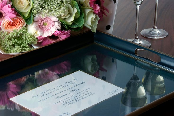 Another great use for your wedding invitation.
