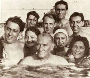 Atatürk, Florya, Istanbul,5 Ağustos    1936